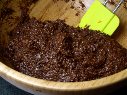 Gateau au chocolat au quinoa