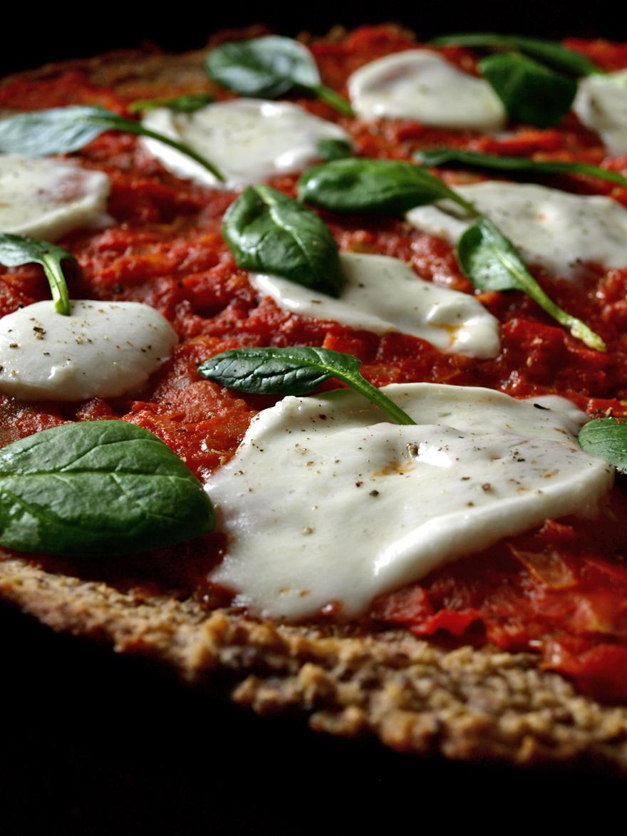 Pizza sans gluten à la napolitaine