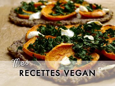 Recettes vegan végétaliennes