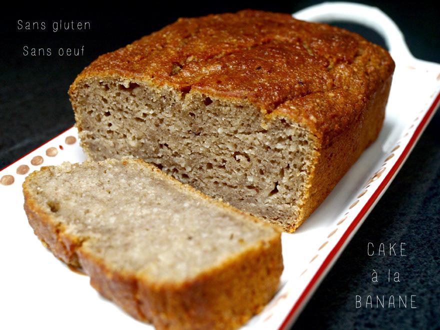 Cake Farine Riz Banane Sans Oeuf