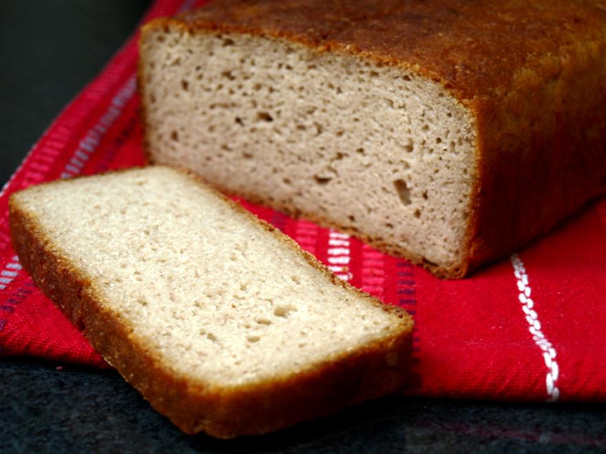 Pain sans gluten farine de riz et châtaigne