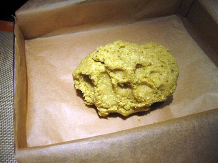 Pâte sablée à la pistache (sans gluten)