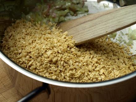 Protéines de soja pour sauce bolognaise végétale
