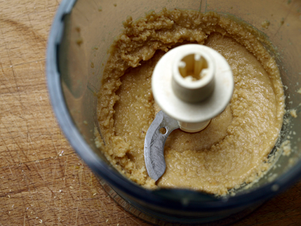 Purée de cacahuètes pour sauce rouleau de printemps