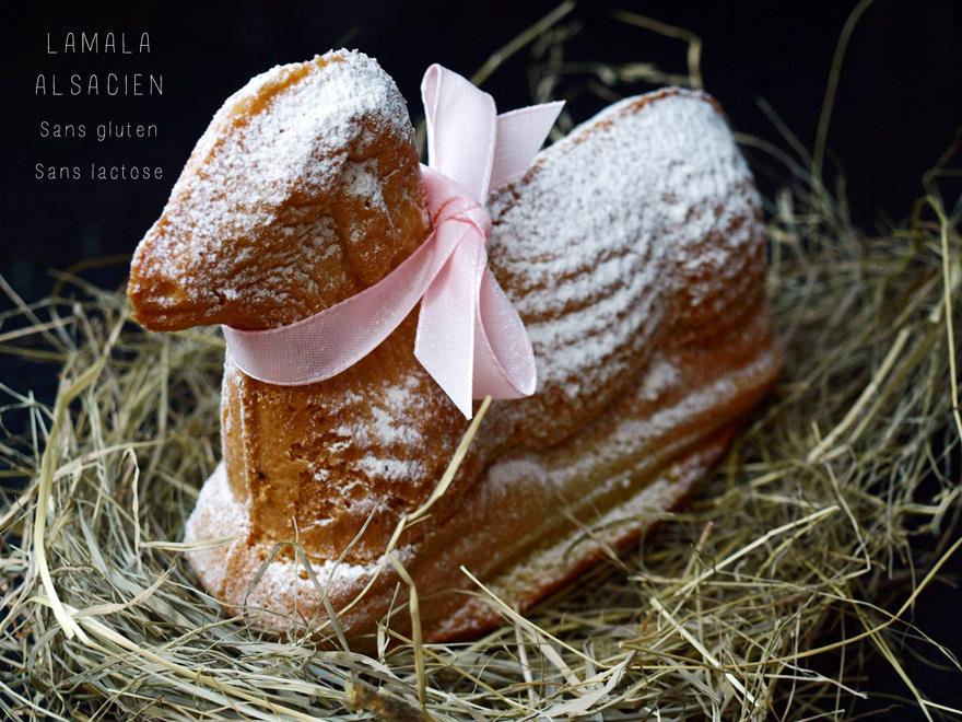 Lamala alsacien - Agneau de Pâques (sans gluten)
