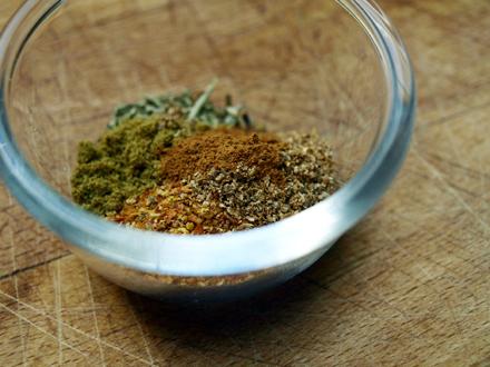 Mélange d'épices pour chili végétarien