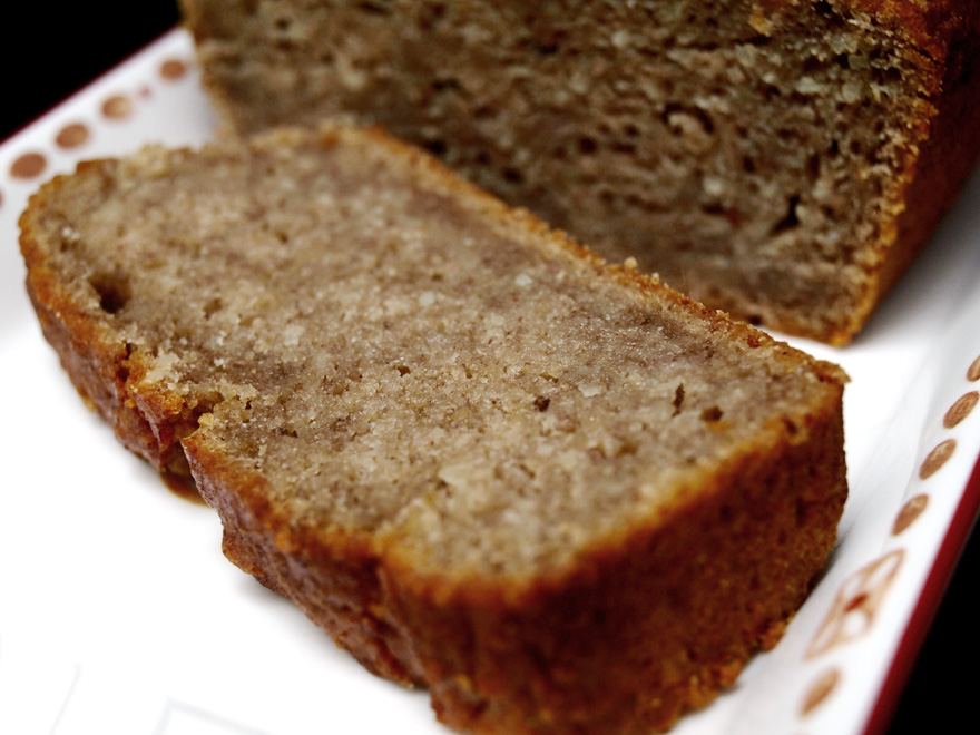 Tranche de cake sans gluten, sans oeuf (sans GLO)