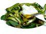 Recette salade d'asperges vertes croquantes et son oeuf poché