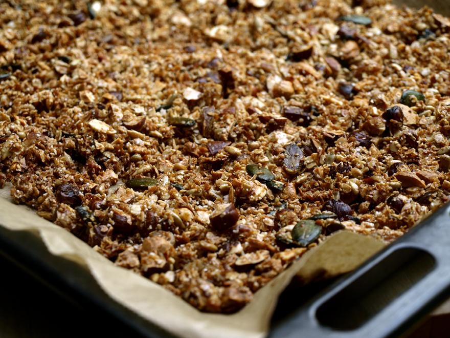 Granola sans gluten aux flocons d'avoine