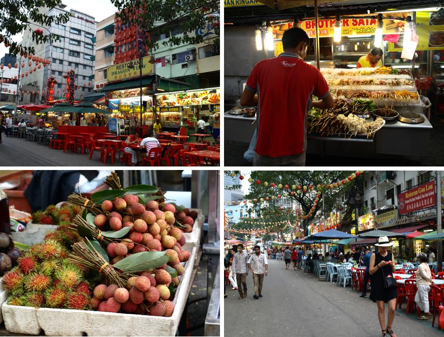 Jalan Alor, Kuala Lumpur © Cookismo.fr