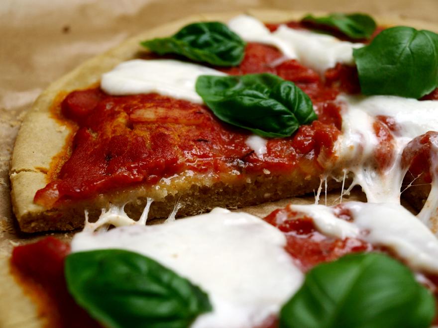 Pâte à pizza maison sans gluten, façon Jeanne B