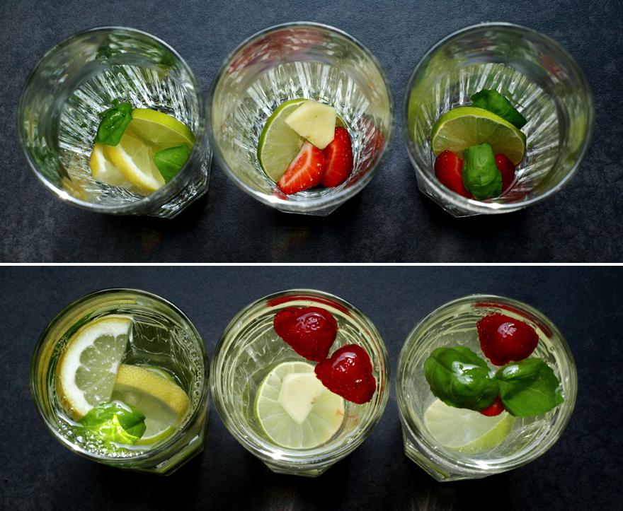 Préparation des eaux aromatisées