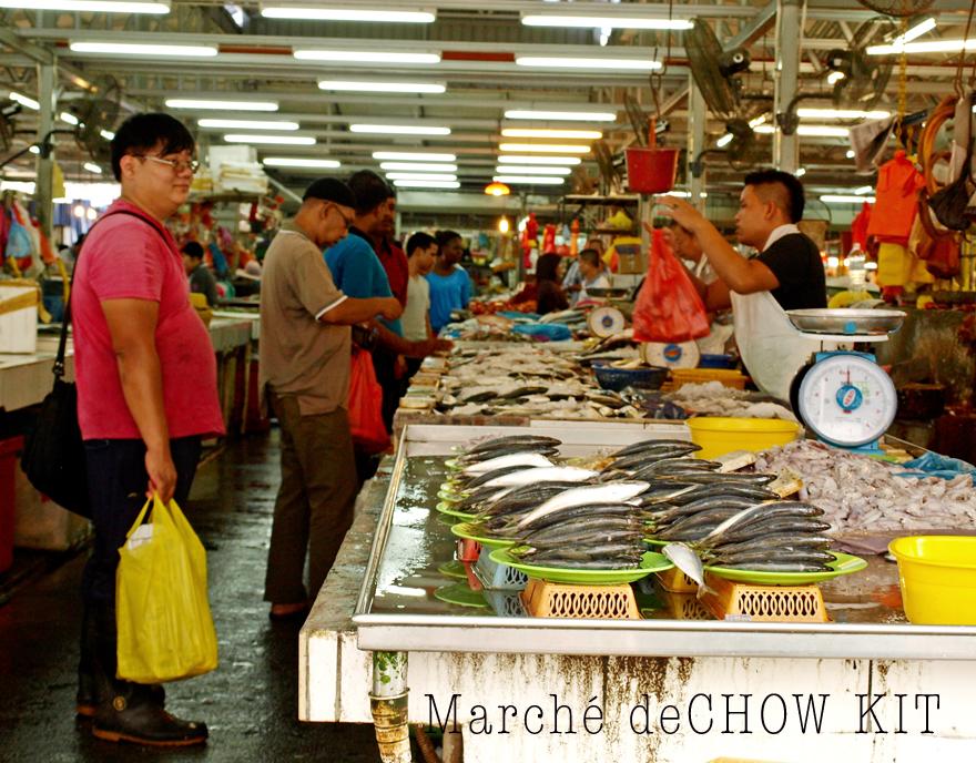Le marché de Chow Kit à Kuala Lumpur