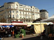 Le Naschmarket de Vienne