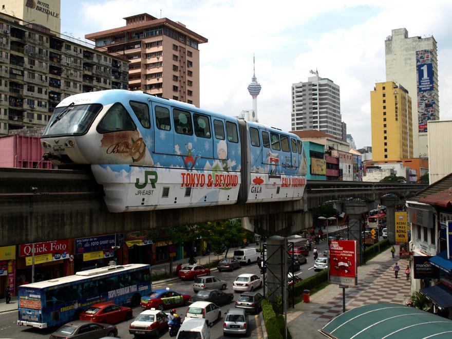 Station Chow Kit - KL Monorail (Kuala Lumpur)