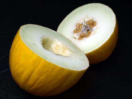 Melon canari coupé