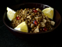 Recette  salade de lentilles au tempeh et à la grenade