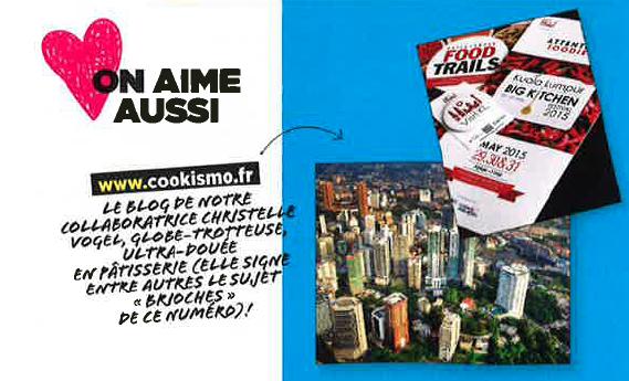 Cookismo dans le Vital Food n°5