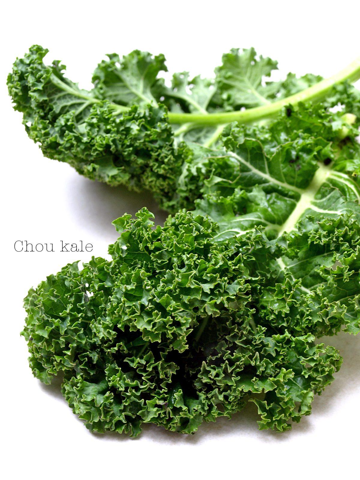 Feuilles de chou kale