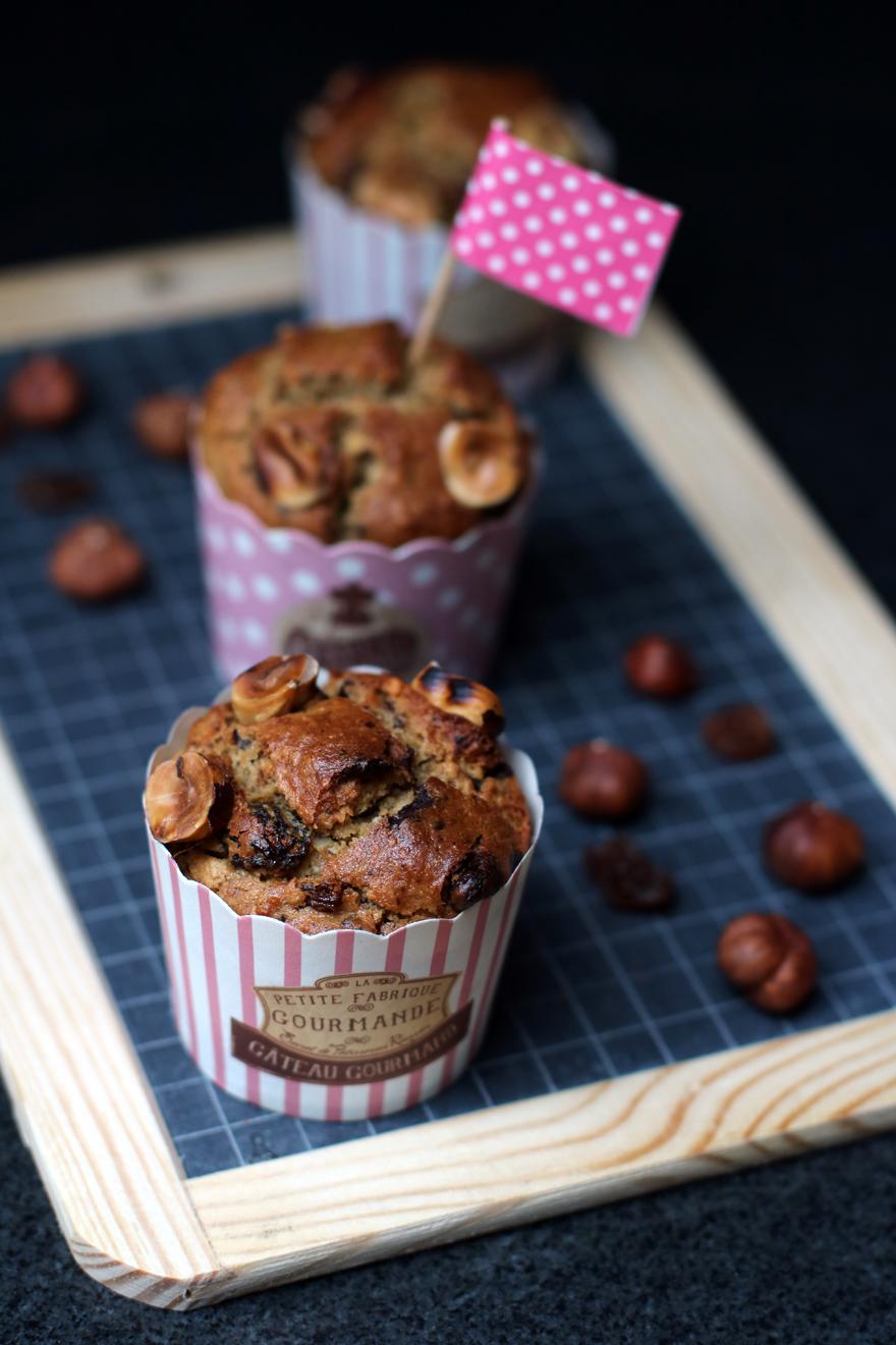 Muffins sans gluten (sans lait, sans oeuf)
