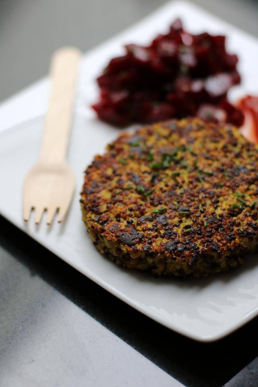 Steak de quinoa (végétarien)
