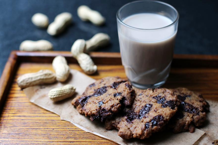 Cookies sans gluten, sans lactose