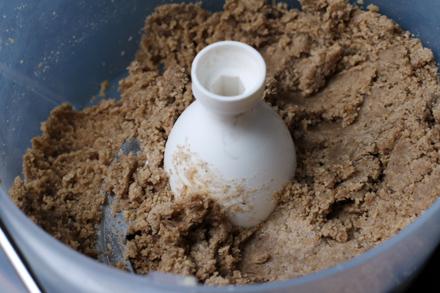 Préparation pâte sablée sans gluten