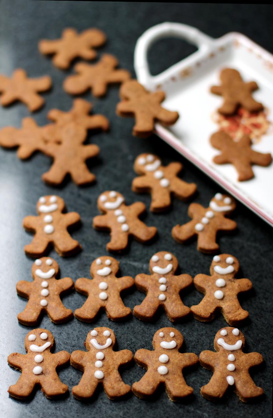 Biscuits gingerbread sans gluten, lactose, oeuf (vegan)
