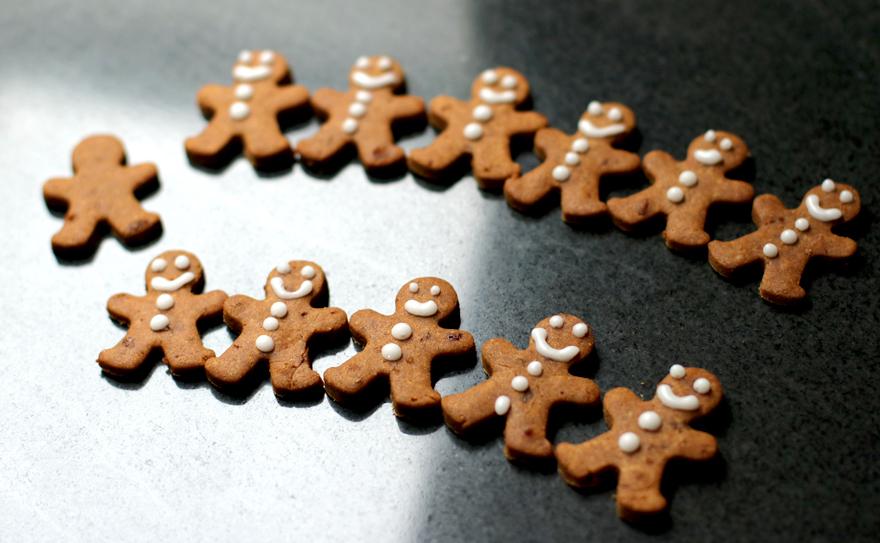Farandole de gingerbread sans gluten
