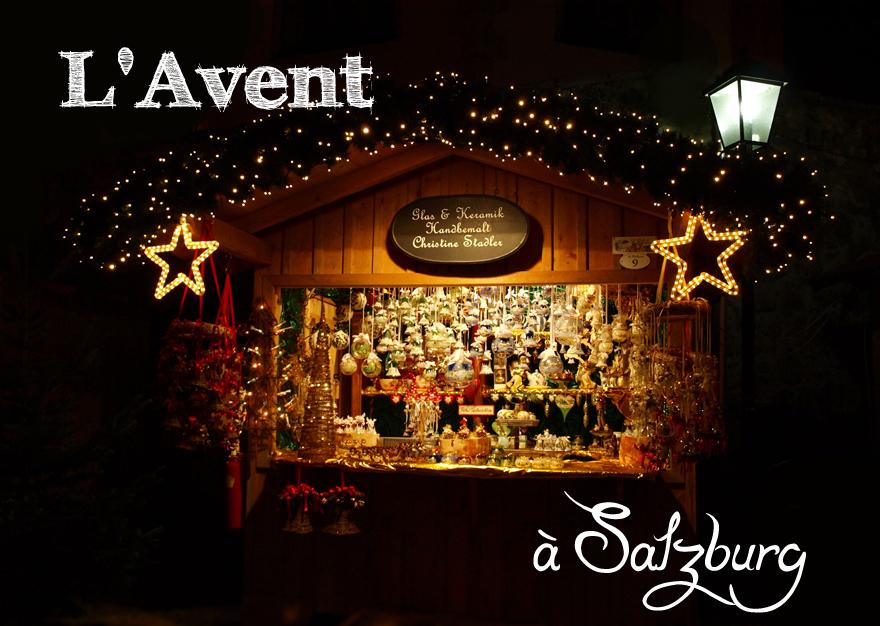 Les marchés de Noël de Salzburg