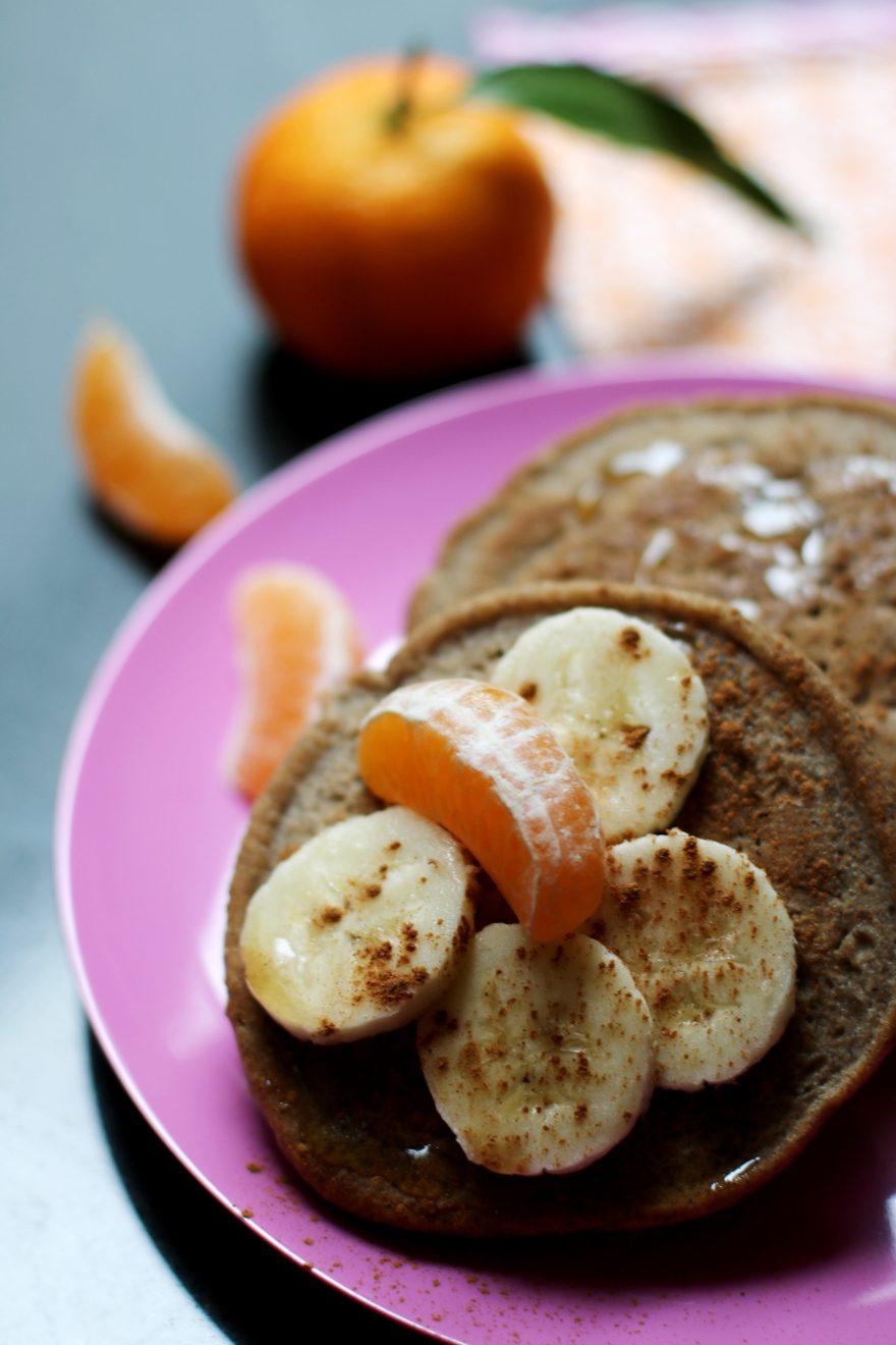 Pancakes sans gluten, sans lactose