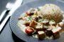 Recette blanquette de tofu au lait de coco