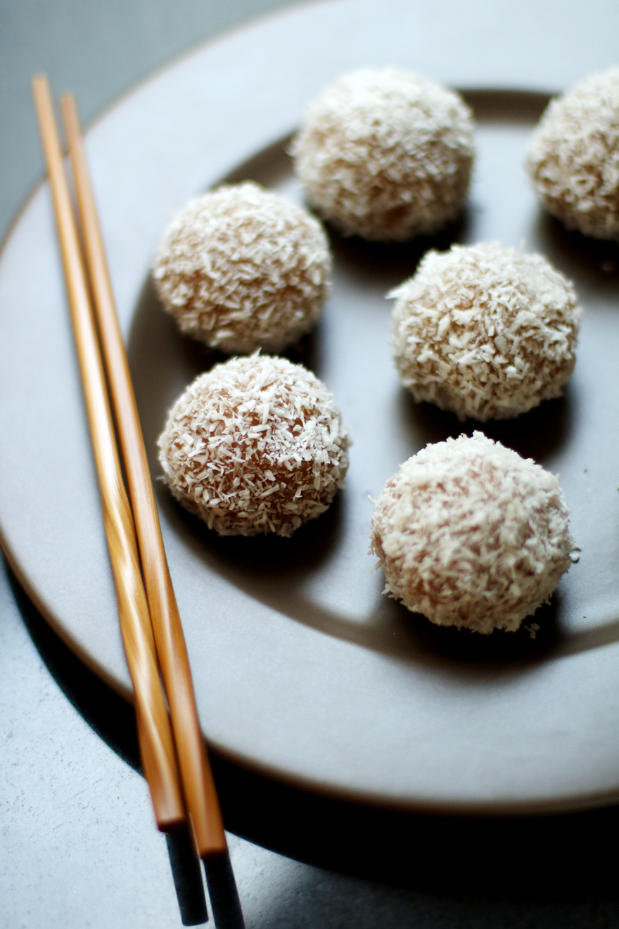 Perles de coco (boules de coco) maison