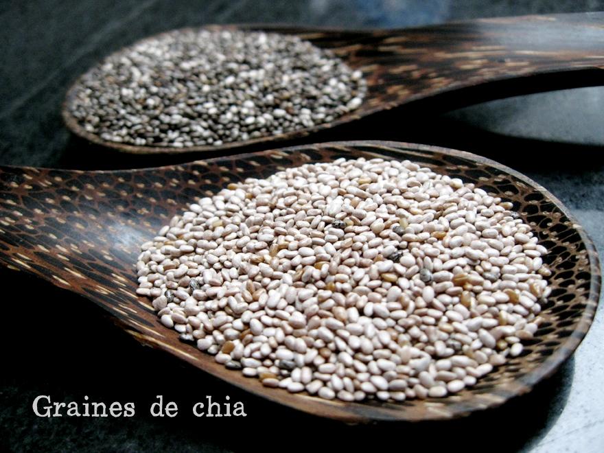 Graines de chia - Chia seeds