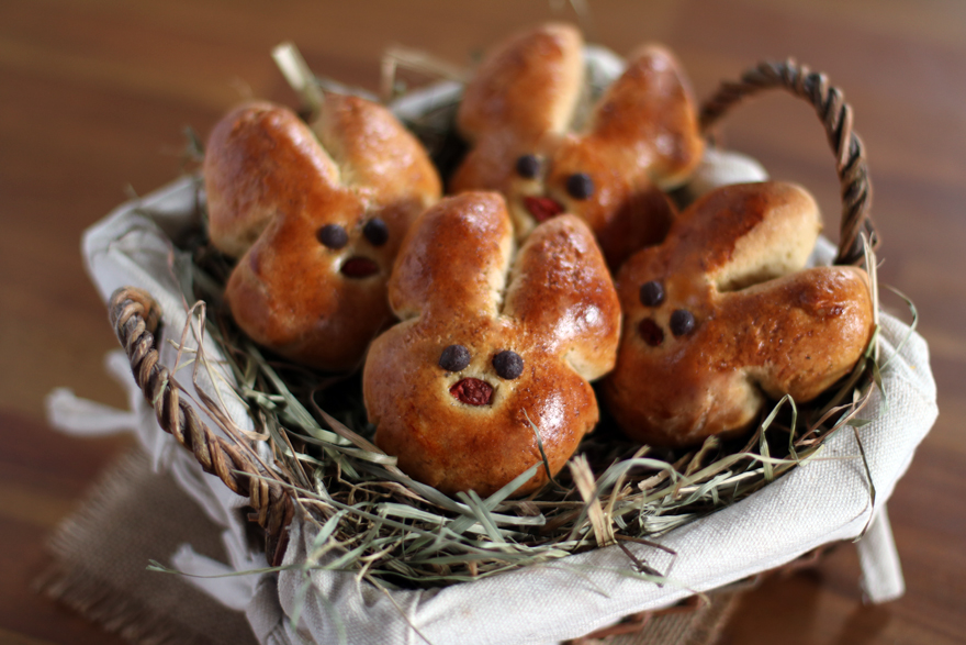 Lapins briochés (sans gluten)