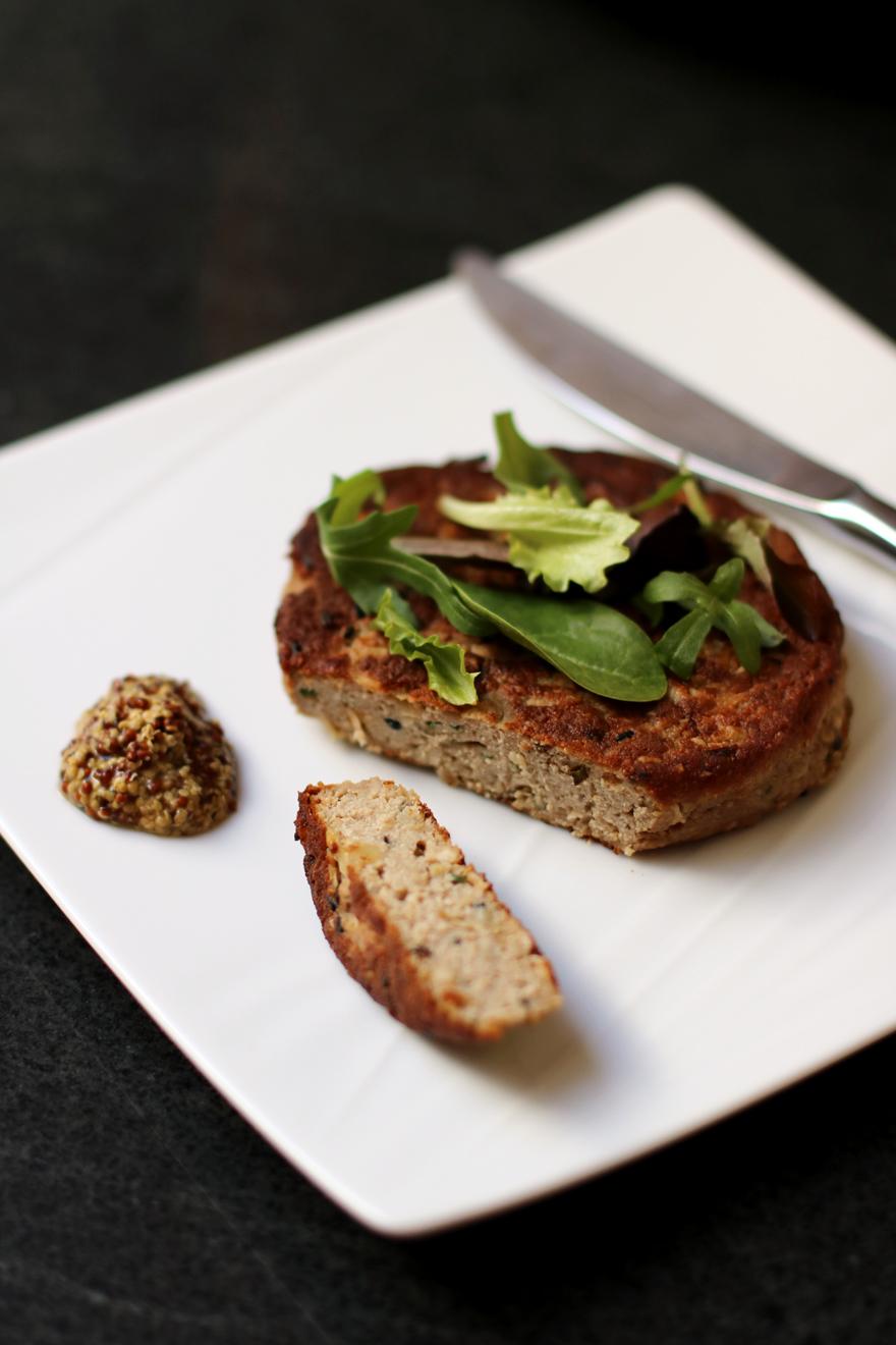 Steak veggie aux champignons