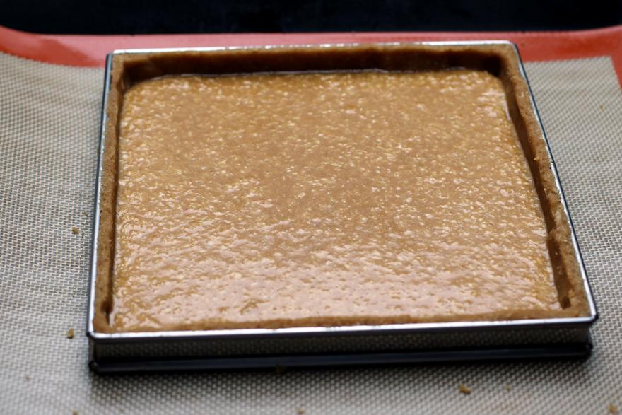 Fond de tarte sans gluten et crème d'amande