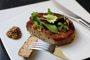 Recette steak veggie aux champignons