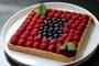 Recette  tarte framboise amande sans gluten