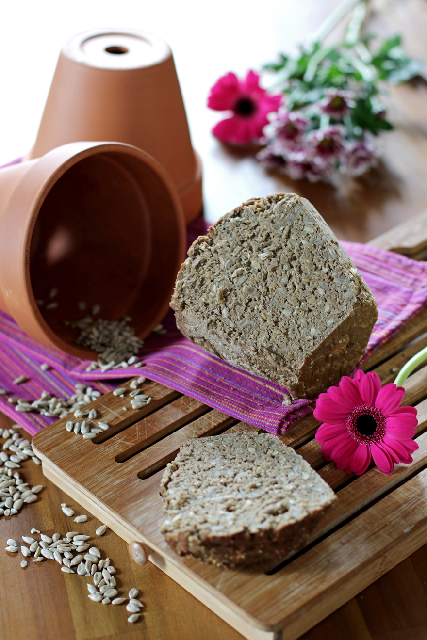Pain maison sans gluten aux graines