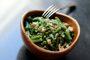 Recette salade de haricots verts au miso