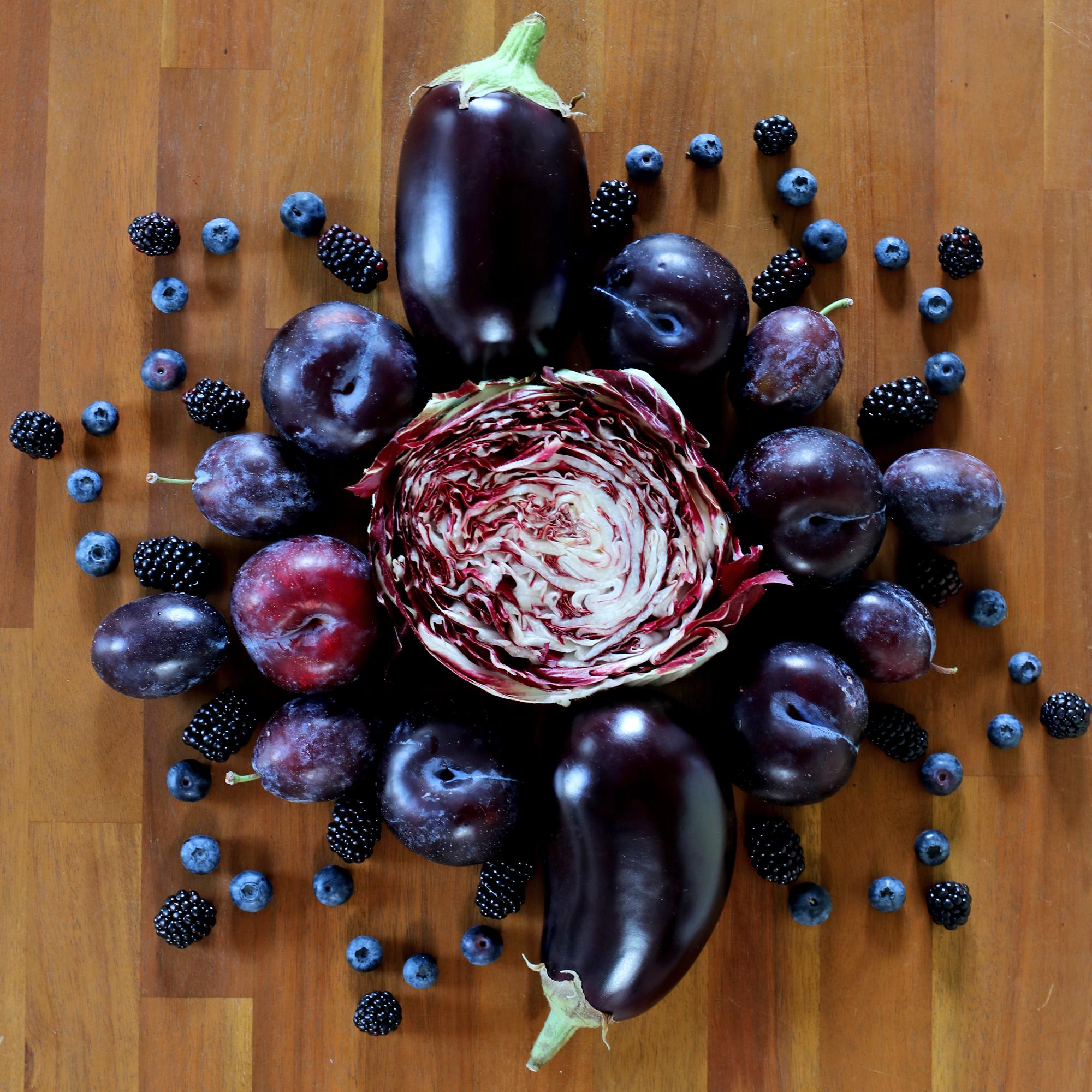 Mandala fruits d'été