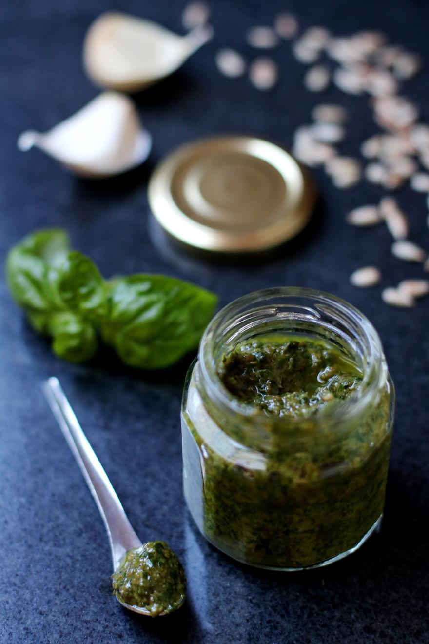 Pesto végétal sans fromage - Vegan pesto