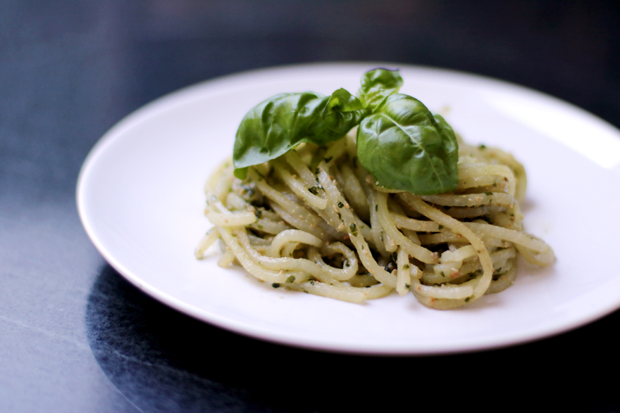 Spaghetti de chou-rave au spiralizer