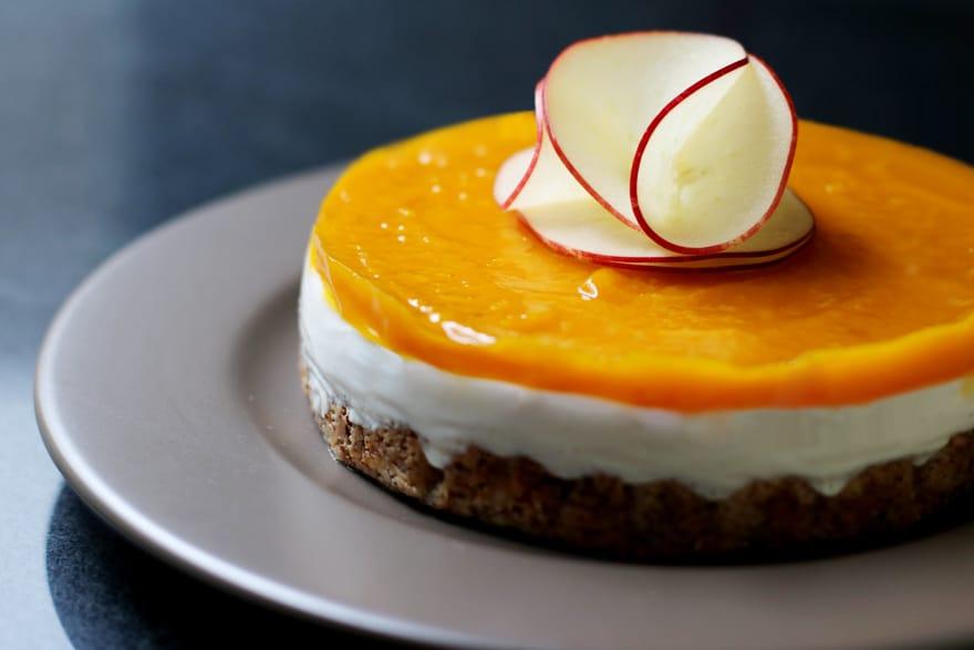Gâteau végétal, sans gluten, sans lactose, sans GLO (saveur coco vanille)